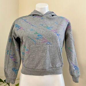 New w/o tags Girls 10/12 Pretty Adidas Hoodie